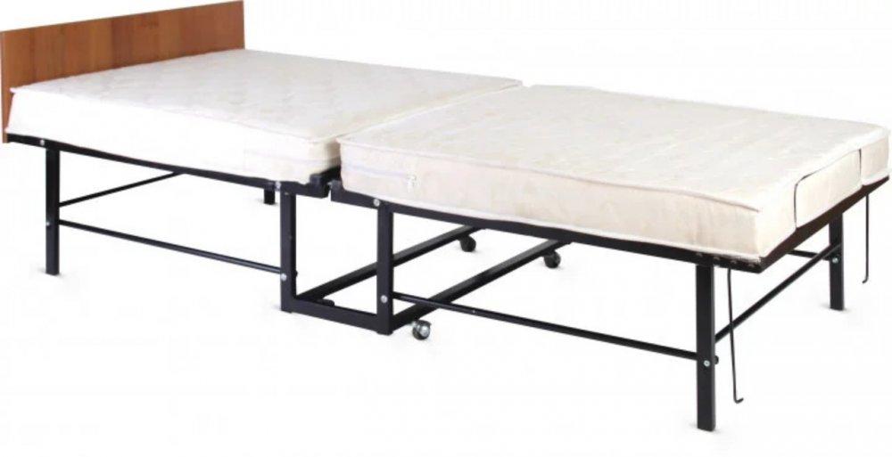 Купить Кровать Раскладная с Ортопедическим Матрасом Комфорт