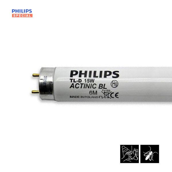 Лампа ультрафиолетовая Philips Actinic BL TL-D 15W/10G13