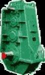 Редукторы цилиндрические трехступенчатые вертикальные крановые общепромышленные ТИПА ВКУ