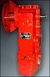Редуктор  вертикальный крановый трехступенчатый типа В-400 (В-400-18-У1)