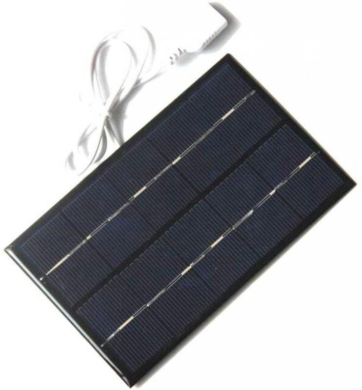Купить Зарядний пристрій на сонячній енергії 2W 5V Полікристалічний кремній. 88x142MM
