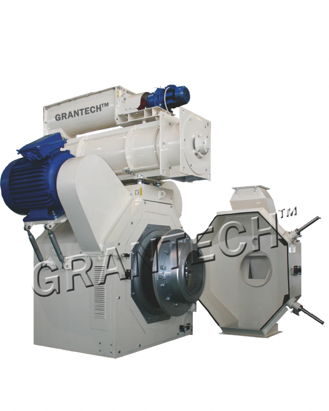 Granulátor pro výrobu krmiva