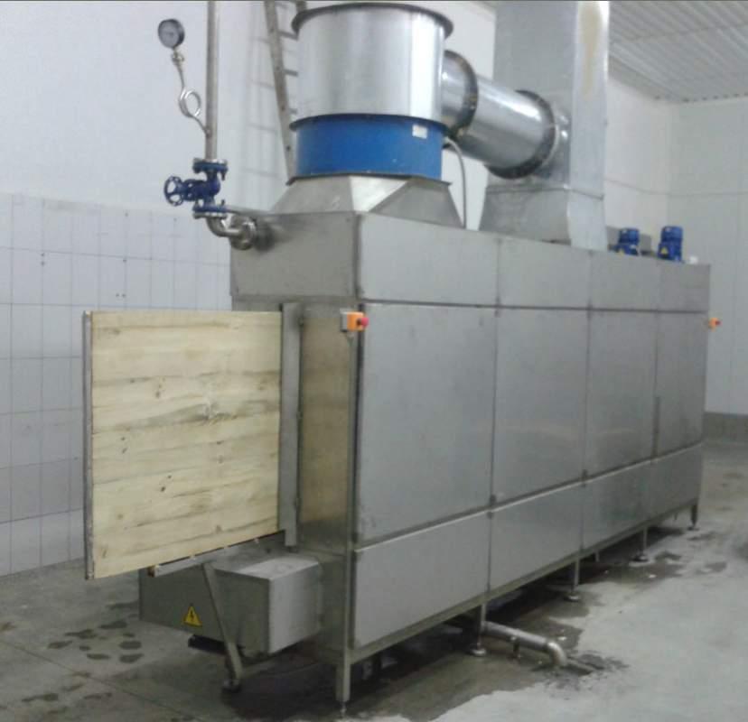 Установки для мойки сырных полок для молочной промышленности.