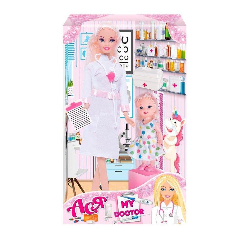 Купить Кукла Ася мой врач с аксессуарами
