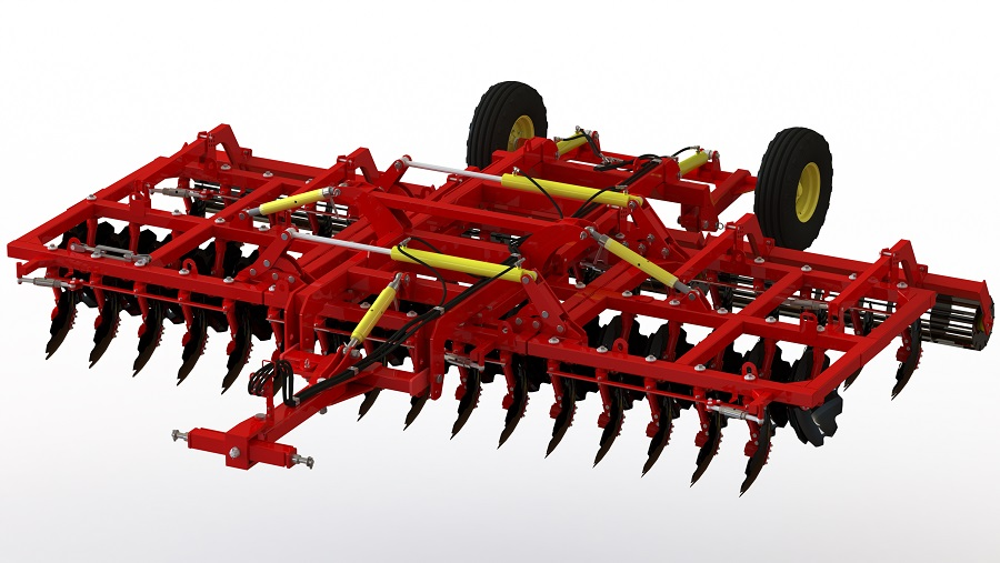 Buy Disc harrows, PD-6, with an adjustable angle of attack. TM SUNRISE production.