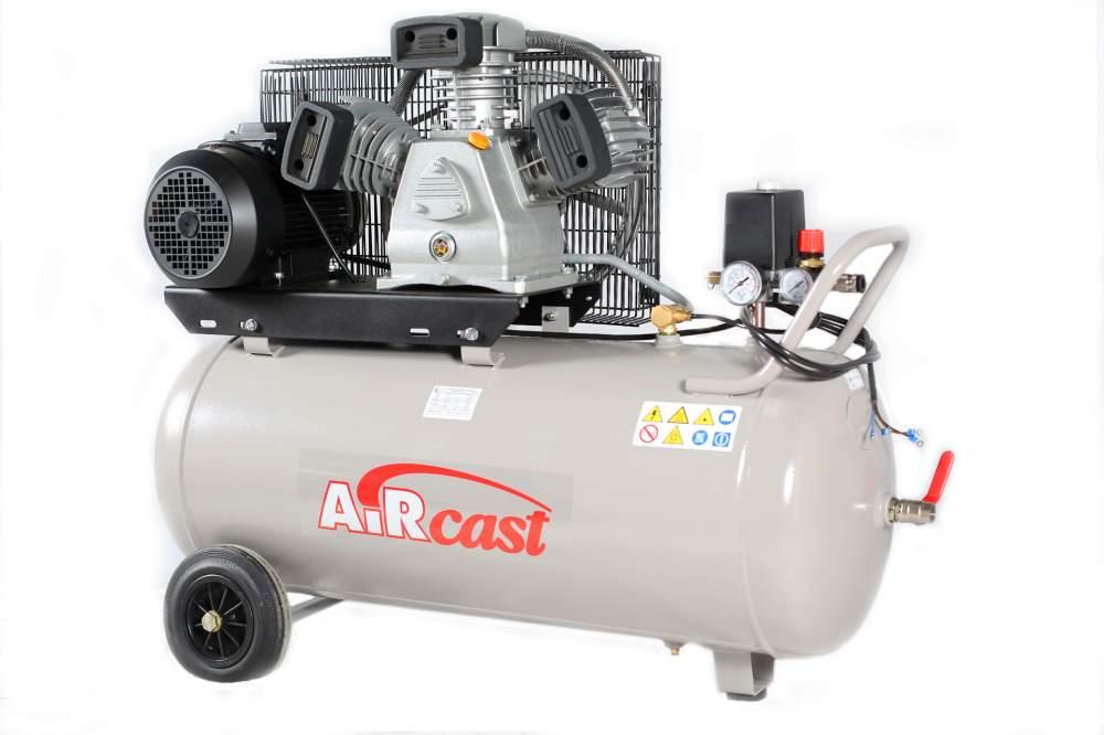 Поршневой компрессор AirCast CБ4/С-50.LB40 (РМ-3127.00)