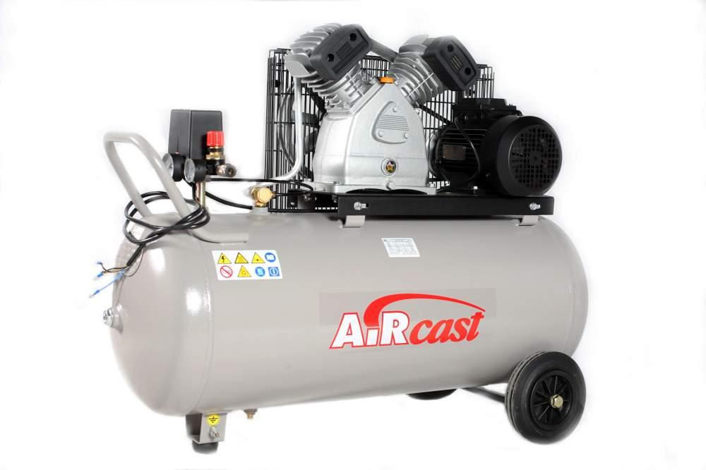 Поршневой компрессор AirCast CБ4/С-200.LB30