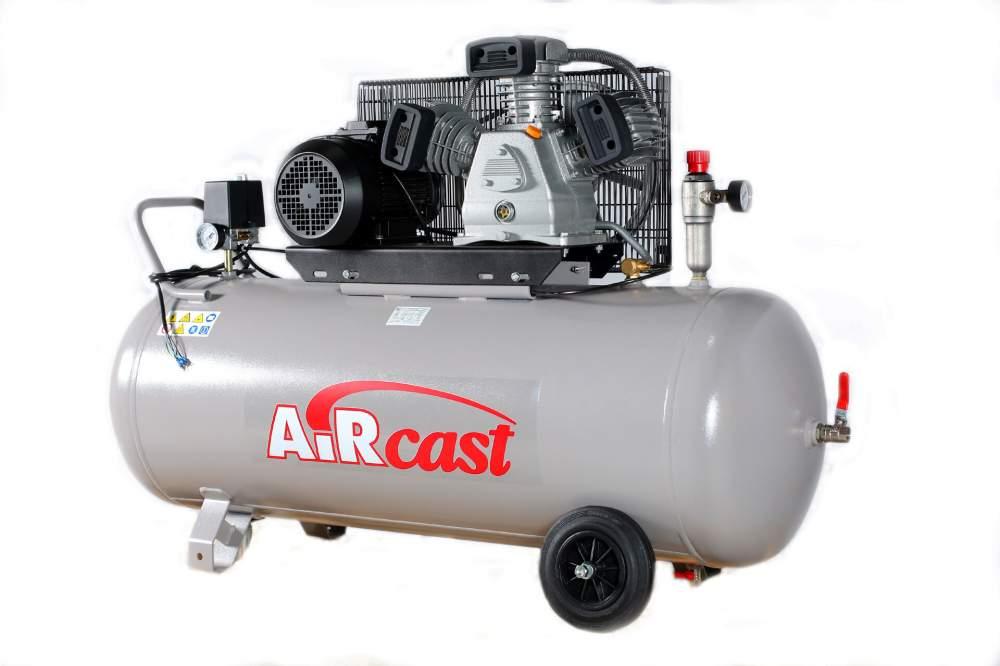 Поршневой компрессор AirCast CБ4/С-200.LB40 (РМ-3127.02)
