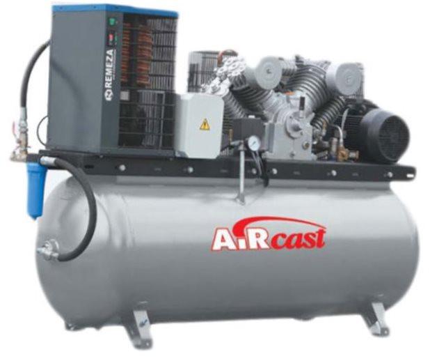 Поршневой компрессор AirCast CБ4/Ф-500.LT100Д (с осушителем)