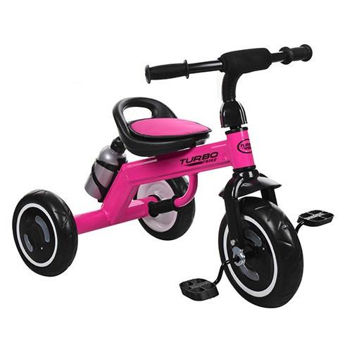 Купить Велосипед трехколесный Turbotrike M 3648-M-1 со светящимися колесами малиновый