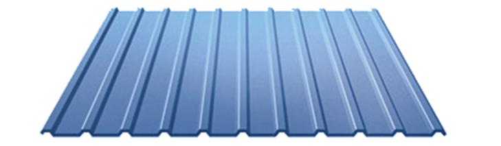Купить Профнастил c полимерным покрытием С-10 0.45 мм