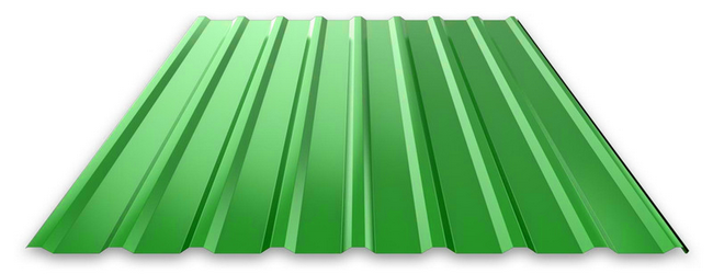 Купить Профнастил c полимерным покрытием НС-20 0.45 мм