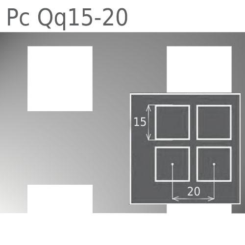 Купить Перфорированный лист Pc Qq15-20/1.0/1000х2000