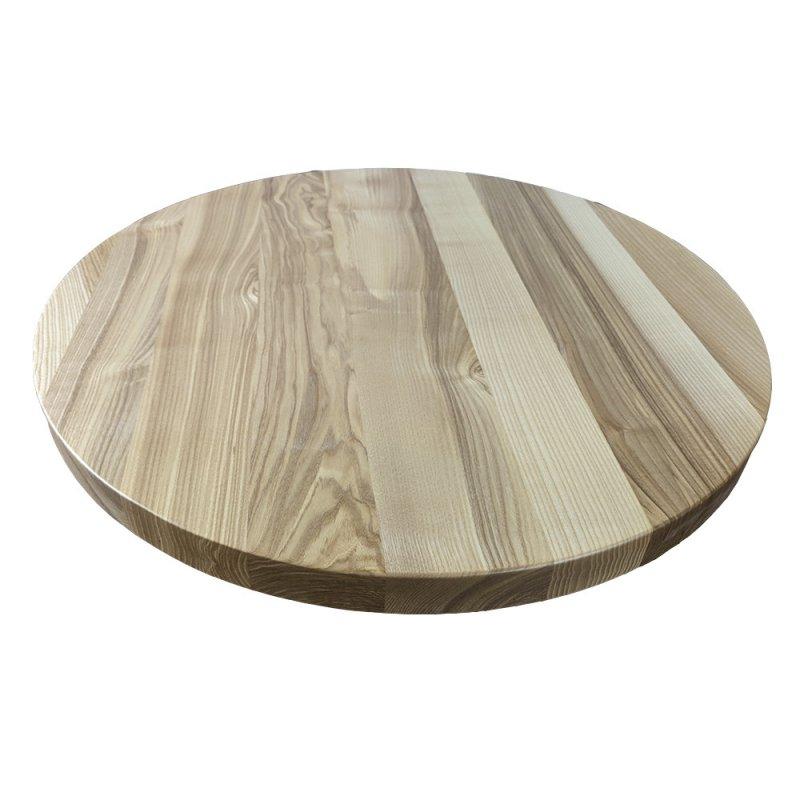 Купить Круглые столешницы из массива натурального дерева для кафе и ресторанов