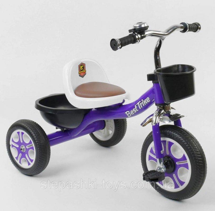 """Купить Детский велосипед """"Гномик"""" 3-х колёсный LM-1355 """"Best Trike"""" пено колесо, металлическая рама, звоночек"""