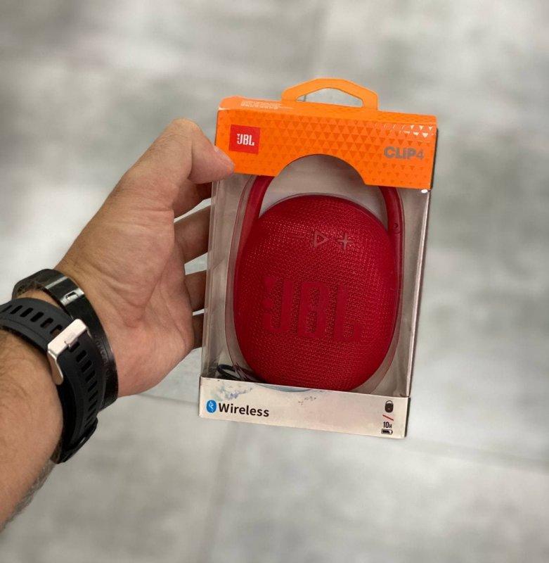 Портативная Bluetooth Колонка JBL Clip 4 Красный