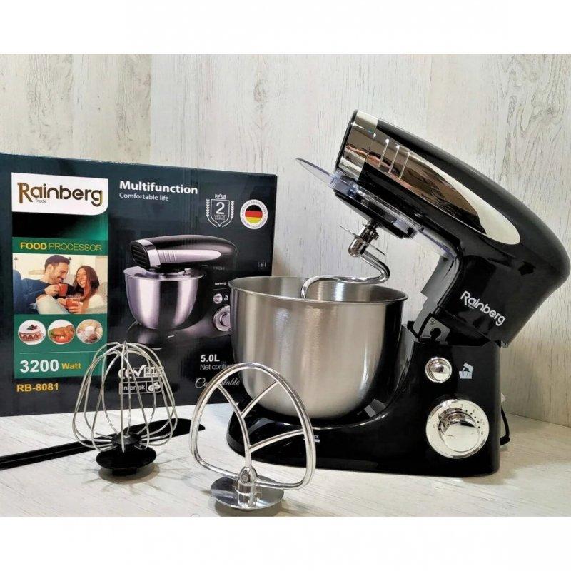 Купить Кухонный комбайн Rainberg RB 8081 Тестомес 1500Вт