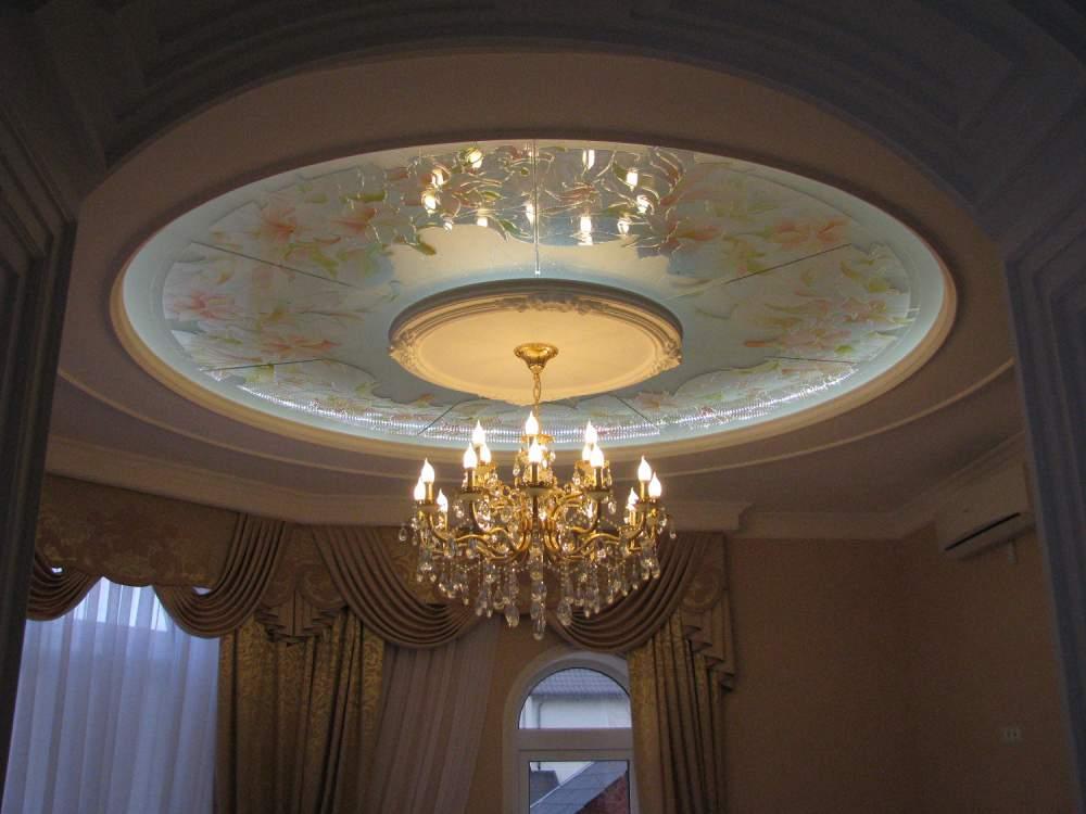 Потолки витражные, Одесса