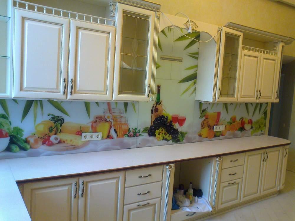 Кухонные фартуки стеклянные, Одесса