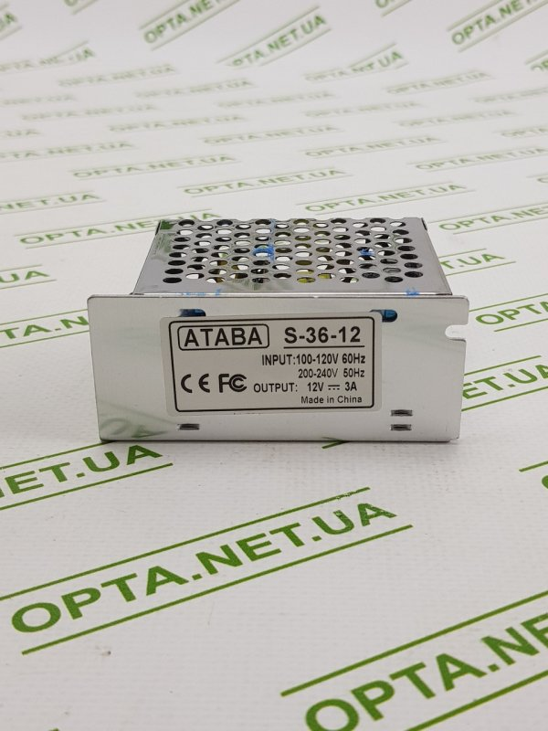 Купить Блок адаптер питания ATABA S-36-12 360W (3A)