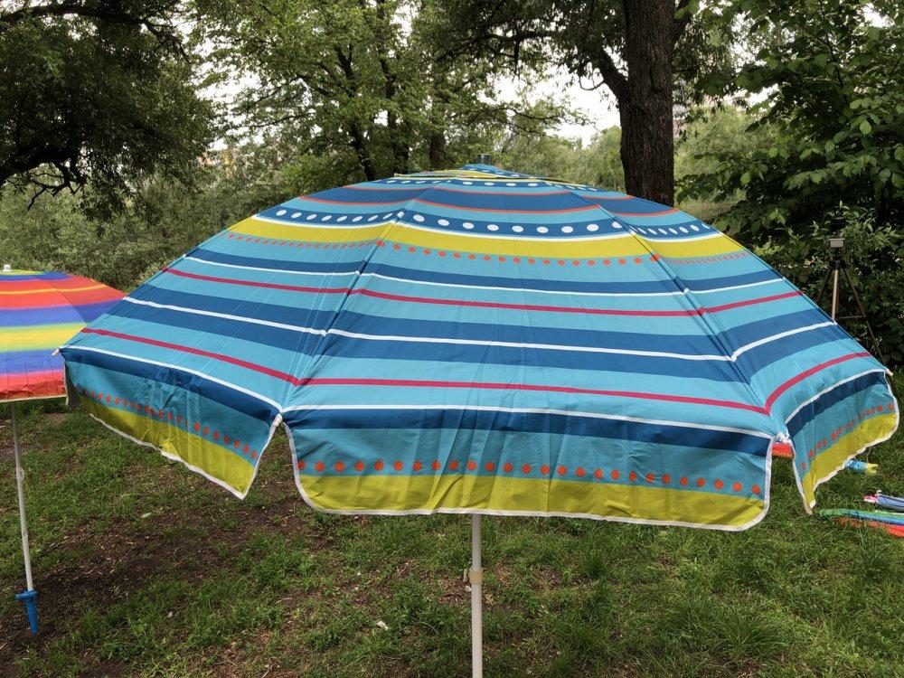 Купить Пляжный зонт с регулируемой высотой и наклоном 180 см 1