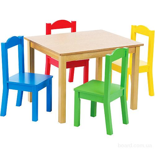 Столик и стульчик детский