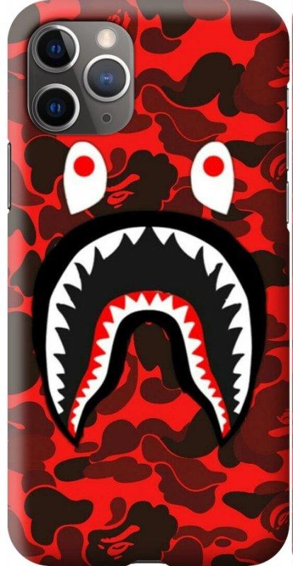 Купить Чехол для телефона Bape Shark Logo, чехол для Samsung, Apple iPhone, Xiaomi, , Honor, Huawei и других