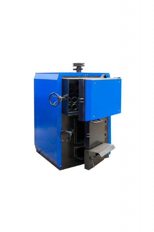 Купить Комбинированный стальной трехходовой твердотопливный водогрейный котел серии КВР 100-150 СТМ, Украина
