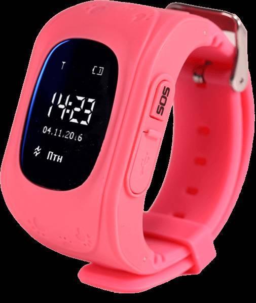 Купить Детские смарт-часы Smart Watch Q50 с GPS трекер Pink (in-112)