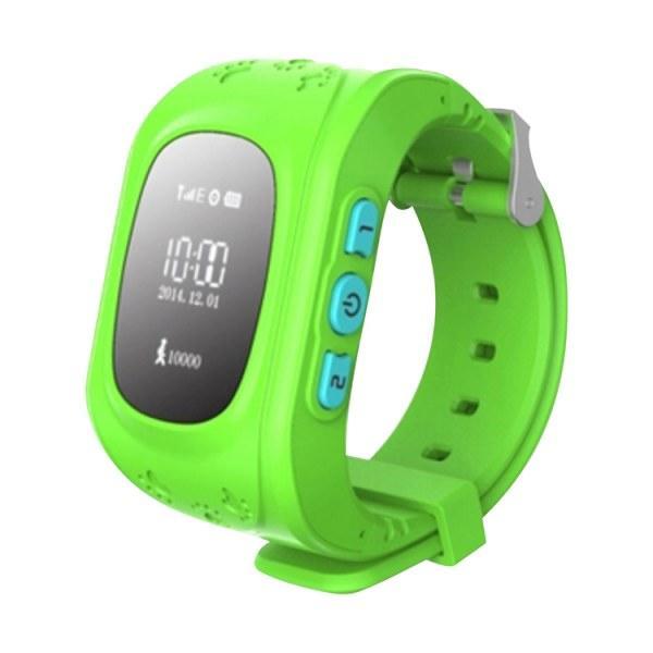Купить Детские смарт-часы Smart Watch Q50 с GPS трекер Green (in-113)