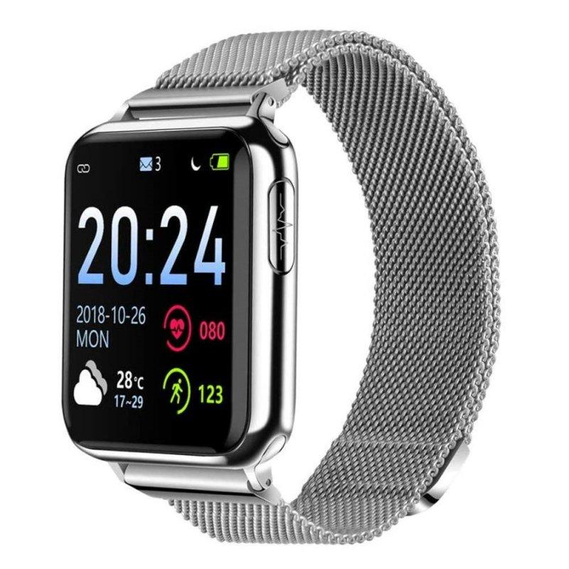 Купить Умные часы Lemfo V5 Metal с измерением давления и пульсоксиметром (swlemv5metsil)