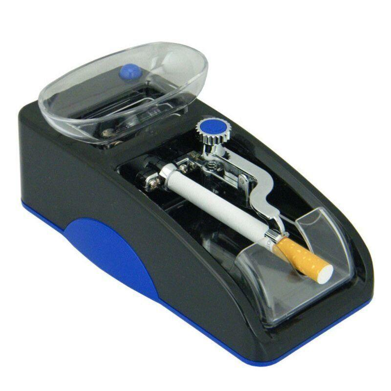 Купить Електрична машинка для набивання сигарет Gerui GR-12 Синя