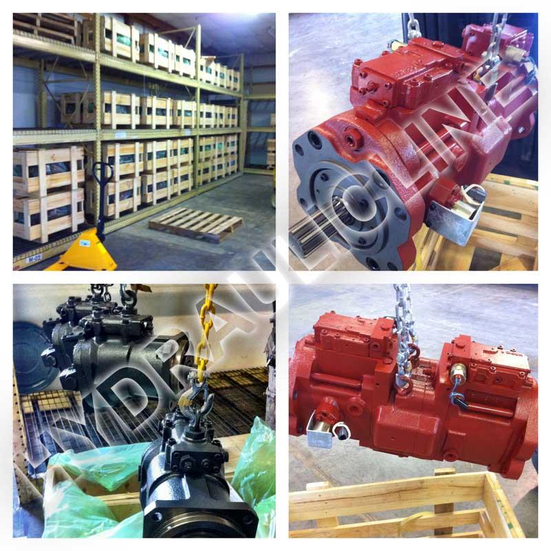 Hydraulic pumps, repair of hydraulic pumps