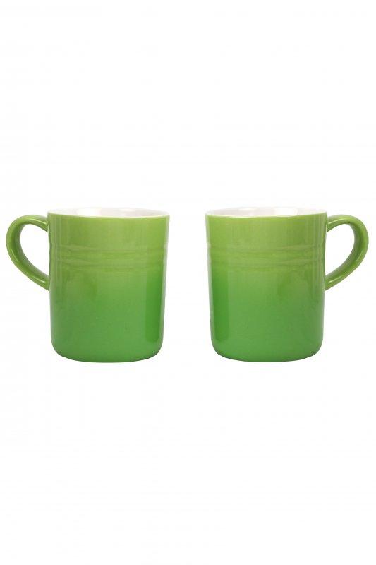 Купить Набор кружек 2 шт Ernesto зеленый-белый LI-550080