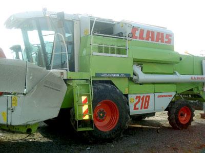 Купить Комбайн Claas Mega 218
