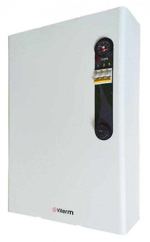 Электрокотел 9кВт Viterm MAX с расширительным баком и насосом Гарантия 5 лет!