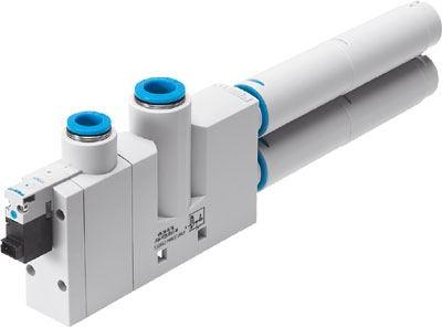 Вакуумный эжектор VN-30-H-T6-PQ4-VQ5-RO2-M