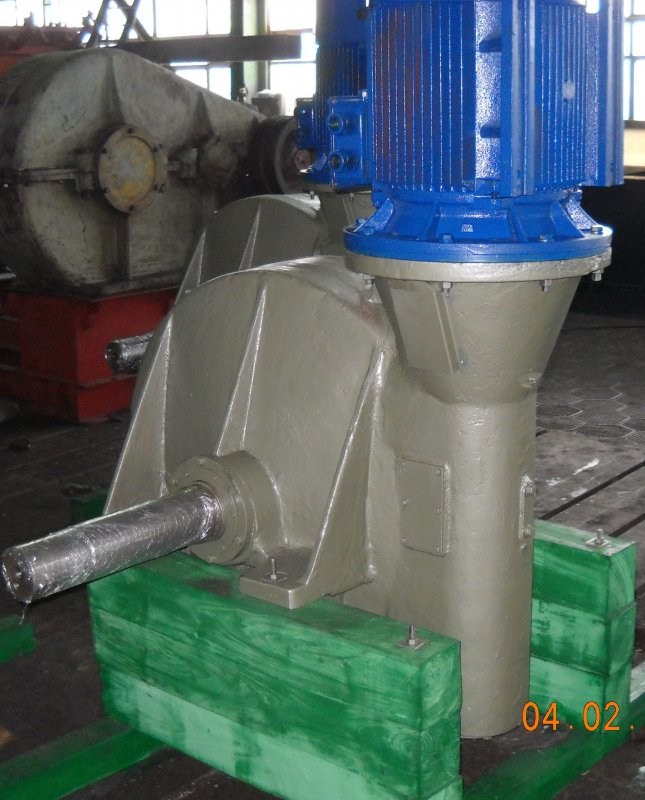 Buy Reducer of the inclined course to shaper-vulcanizer