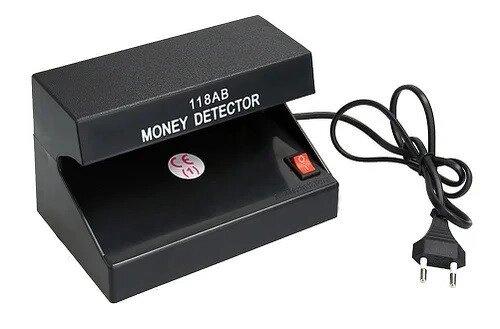 Купить Ультрафиолетовый автоматический детектор валют 101 a 1c машинка с уф лампой для проверки денег купюр от сети