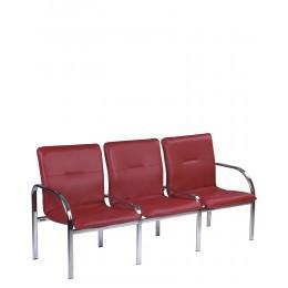 Купить Офисная мягкая мебель STAFF-3 chrome