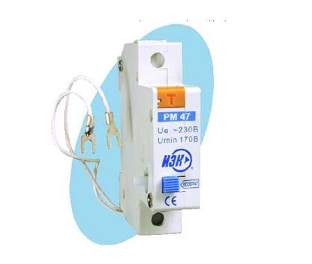 Buy Rastsepitel of the minimum tension of PM47 on MVA00D-RM IEK DIN lath