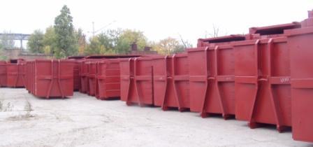 Buy Garbage metal roller containers multielevator