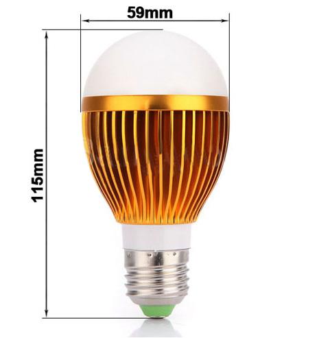Купить Cветодиодная лампа с цоколем E27 10W, теплая белая