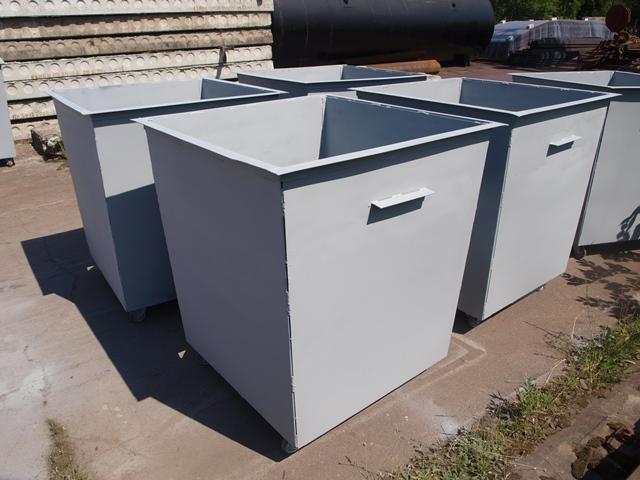Контейнер для мусора на колесиках
