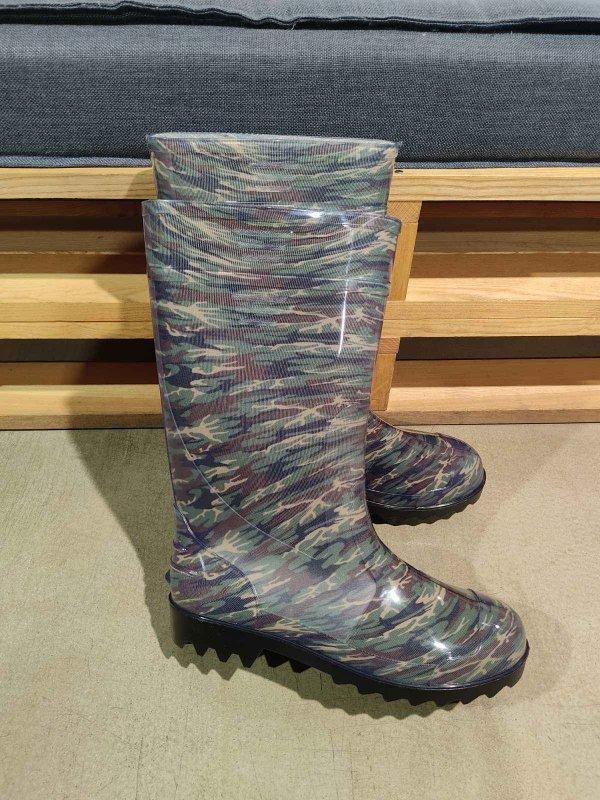 Купить Сапоги ПВХ мужские резиновые камуфляжные, 45 р и др