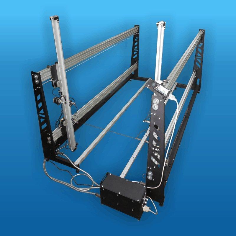 Купити Верстат зі ЧПУ для різання пінопласту з робітником полем 2200х1300мм і довжиною струни 2000мм