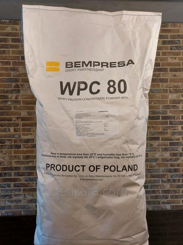 Концентрат сывороточного белка WPC 80% Bempresa (Польша)