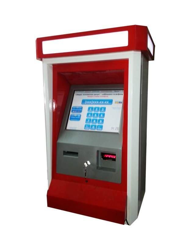 Автомат уличный навесной/Терминал для пополнения счета/Вендинговый терминал/Торговый автомат