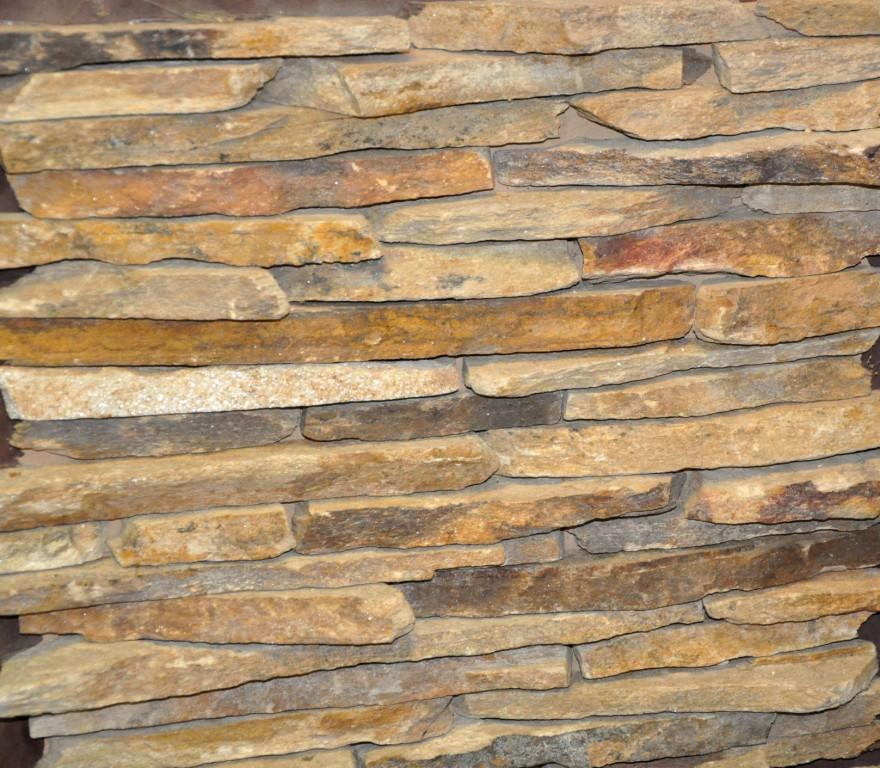 Сланец торец болгарский,облицовочный натуральный камень