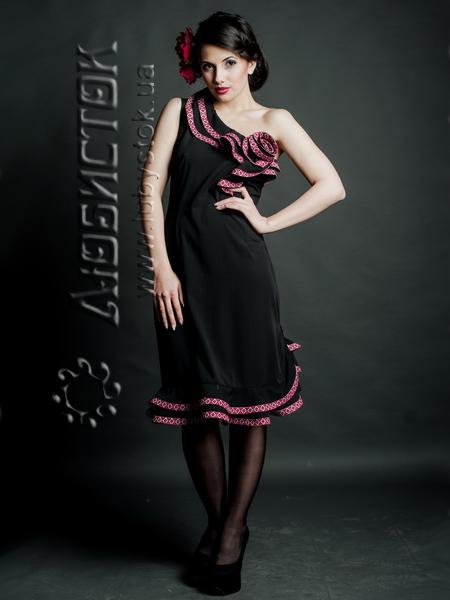 Вишите модне плаття ЖП 65-63 купити в Тернопіль c23cf4c89d54c